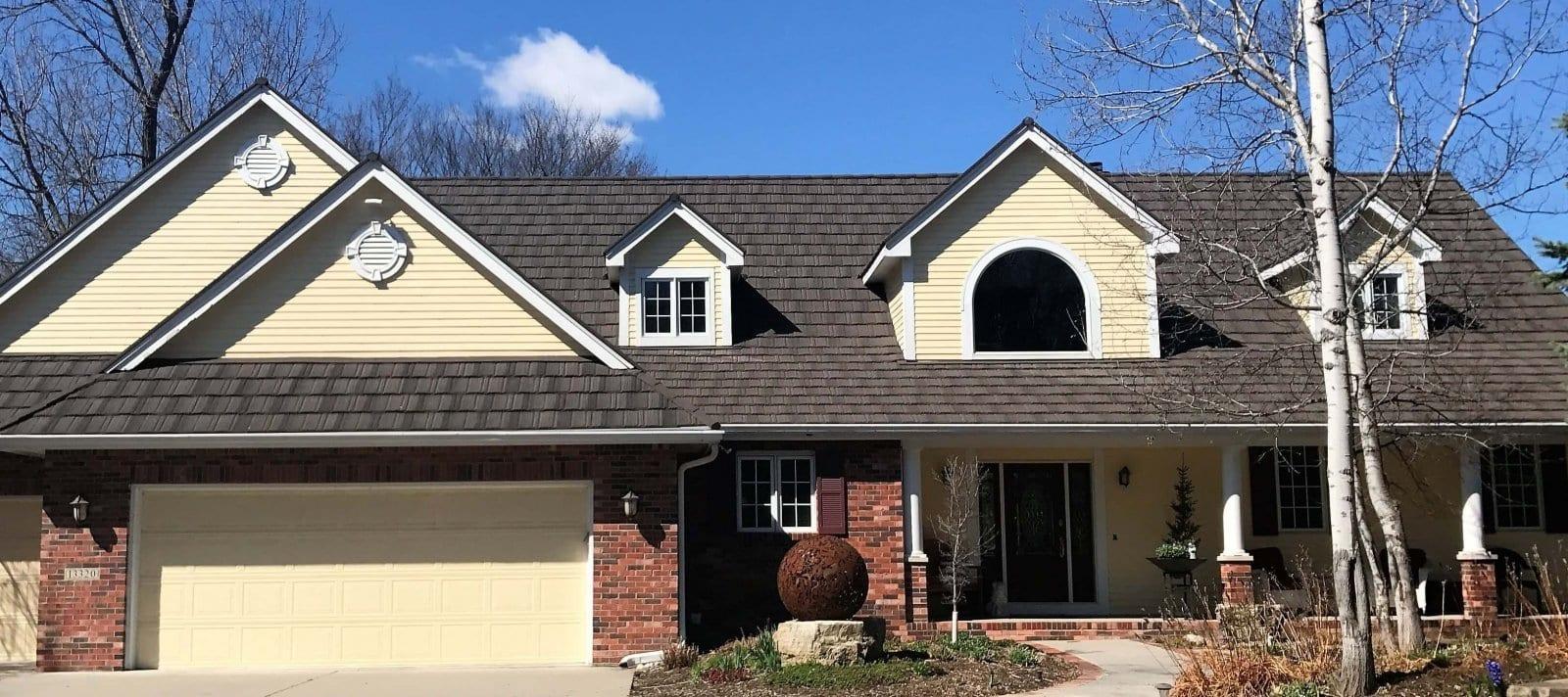Des Moines Decra Metal Shake Roof