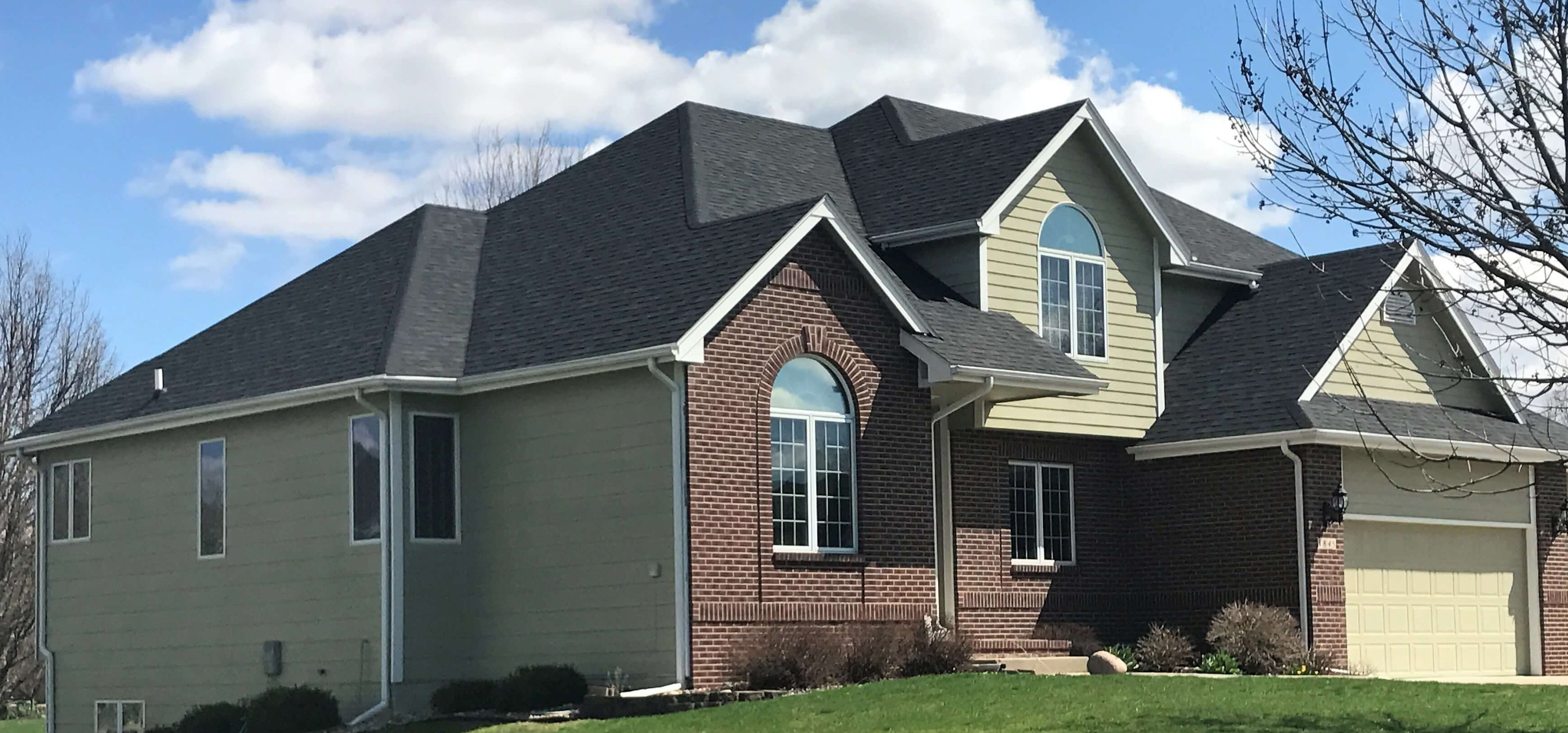 Architectural Style Asphalt Roofing Worth Exteriors