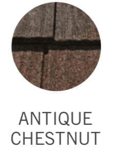 Decra Metal Shake Roofing Antique Chestnut Color