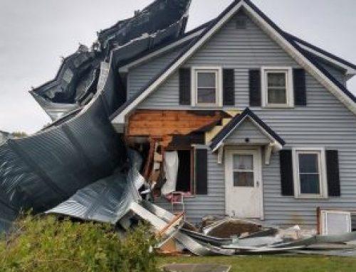 Derecho Storm Damage Repairs Still Needed